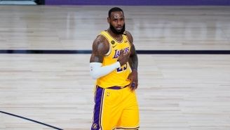 LeBron James' Emotional Speech On The Set Of 'Space Jam' Leaks On The Internet, Reveals New Tune Squad Uniform