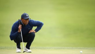 Tiger Woods Switched Scotty Cameron Putters At The PGA Championship To Help Avoid Back Pain