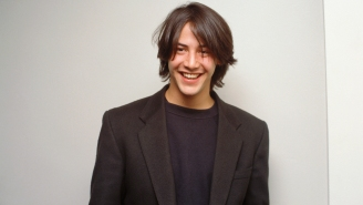 Never-Before-Seen Footage Of Keanu's 'Bill And Ted' Audition Is Straight Out Of A Phone Booth Time Machine