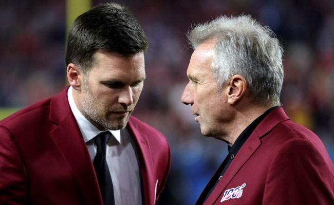 Joe Montana Reveals Why He Thinks Tom Brady Left New England, Based On Conversation At Super Bowl LIV