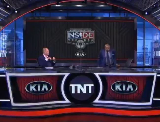Kenny Smith Walks Off Inside The NBA