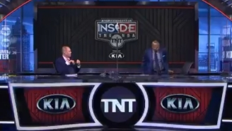 Kenny Smith Just Walked Off The Set Of 'Inside The NBA' In Support Of The Players