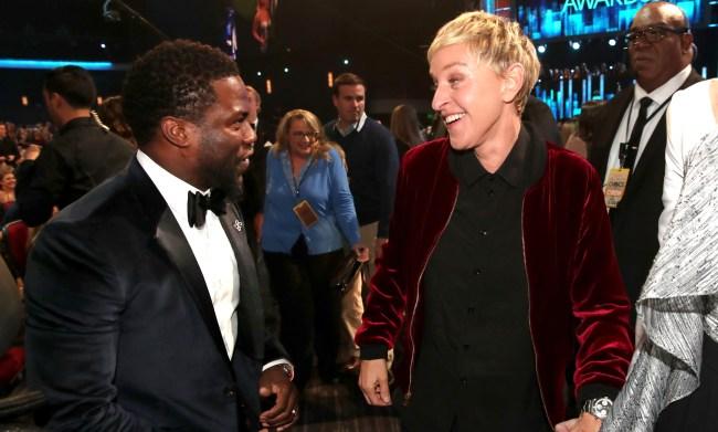 Kevin Hart Asks Everyone To Stop Hating On Ellen DeGeneres