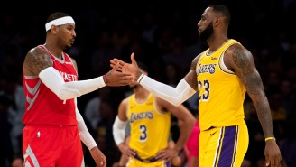 LeBron James Talks About The Time He Saved Carmelo Anthony From Drowning In The Bahamas