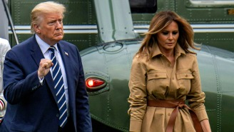 Melania Repeatedly Refusing To Hold President's Hand Gets Turned Into A Meme By Rihanna, Others