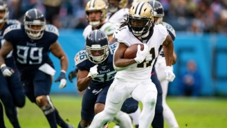 Fantasy Football Fans Freak Out After Saints RB Alvin Kamara Is Rumored To Be Holding Out Due To Contract Dispute