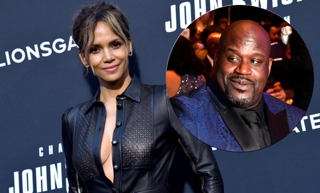 Shaq Shares Story About How Halle Berry Inspired Him To Play His Best