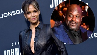 Shaq Shares A+ Story About How Halle Berry Inspired Him To Play His Best Game Ever