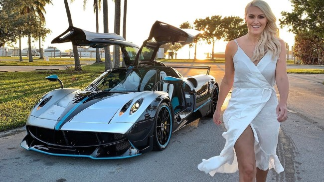 'Supercar Blondie' is the world's richest auto influencer. See her fantasy life.