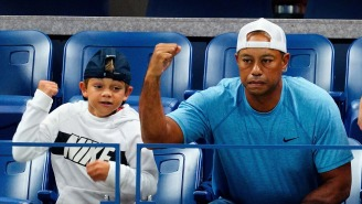 Tiger Woods Was The 'Poster Child' Of A Good Parent While Caddying For His Son Charlie
