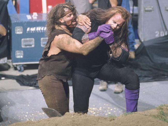 Undertaker Mankind Buried Alive
