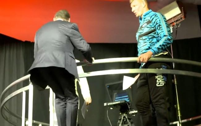 Vince McMahon WrestleMania Jump