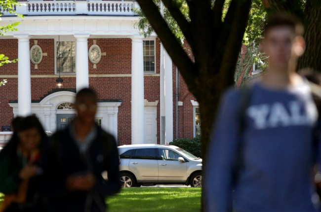 Yale Student Sues School