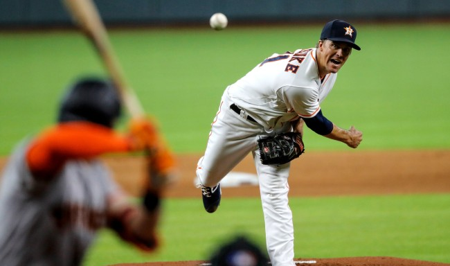 Zack Greinke Told Giants What Pitches Were Coming Still Got Them Out