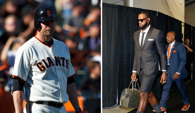 Former MLB player mocks LeBron's 'purse,' instantly gets reminded of past attire