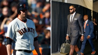 Aubrey Huff Mocks LeBron James For Carrying A 'Purse', Gets Instantly Reminded About The Time He Said He Wore His Wife's Underwear