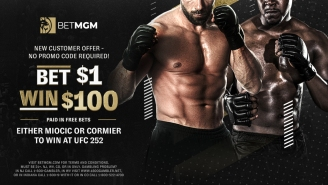 UFC 252 Offer: Bet $1 With BetMGM And Win $100 In Free Bets If Either Stipe Miocic Or Daniel Cormier Wins