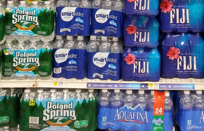 what favorite bottled water says about you