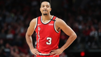 CJ McCollum's Love Of Wine Basically Has Him Freezing His Ass Off In His Hotel Room To Keep Bottles Fresh