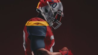 A Graphic Artist Designed Some Sick Concept Uniforms For The 'Columbia Red Tails' And The Washington Football Team Better Be Taking Notes