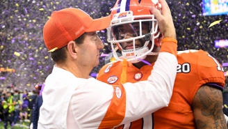Dabo Swinney Saying The Value Of A National Title 'Doesn't Change' Without Every CFB Team Competing Is Moronic