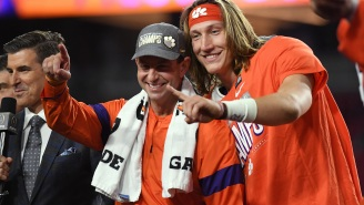 There's Reported Speculation That A Dabo Swinney-Trevor Lawrence Package Deal Could Happen In Jacksonville