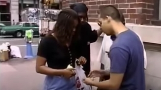 This Unearthed 1995 Footage Of David Blaine Doing Street Magic Is Like Staring Into A Time Capsule