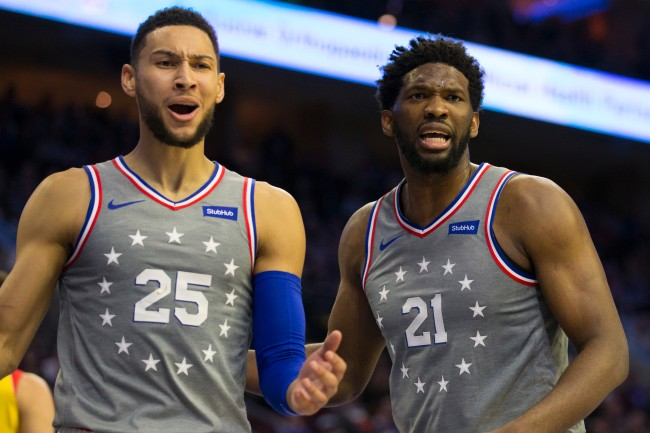 Elton Brand is getting torched by Twitter after the Sixers GM gave his plans for Ben Simmons and Joel Embiid this offseason