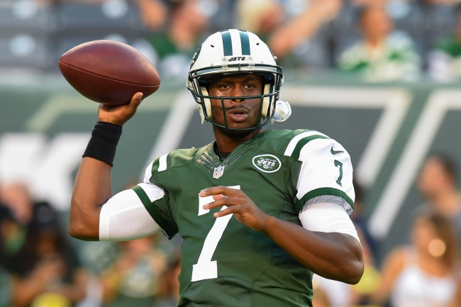 Former New York Jets quarterback Geno Smith ridicules ESPN for writing a story about a 2015 locker room fight with then teammate IK Enemkpali