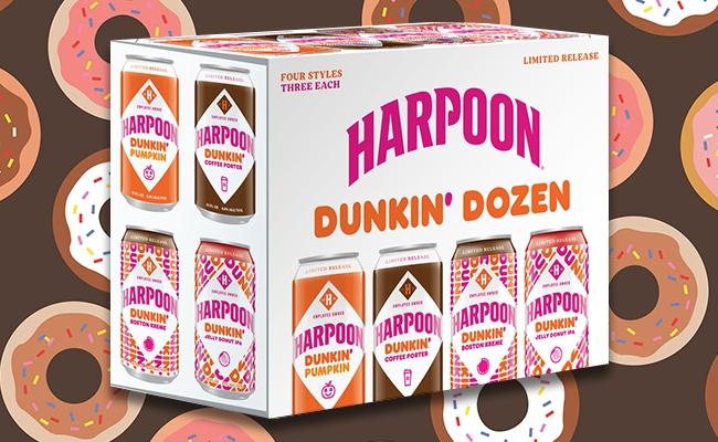 harpoon dunkin donut beer variety pack