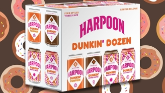 Harpoon Is Using Donuts From Dunkin' To Brew Some One-Of-A-Kind Beers And It Doesn't Get More New England Than This