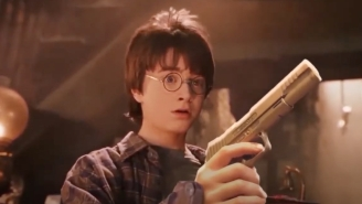 Someone Replaced All The Wands In The 'Harry Potter' Trailer With Guns And I'd Watch TF Out Of This Film