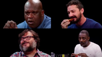 Tribute To Overconfident 'Hot Ones' Guests Getting Their Worlds Totally Destroyed By Hot Wings