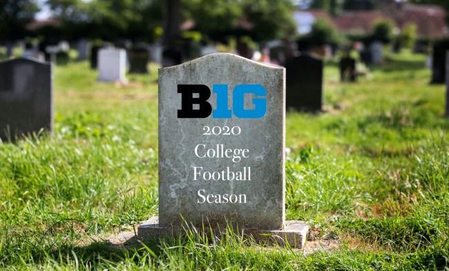 big ten cancels football season