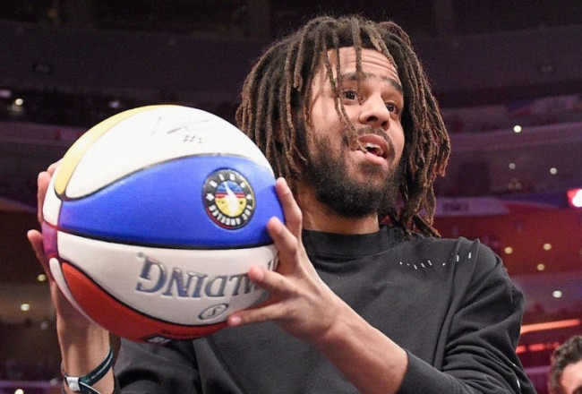 j cole trying to play nba