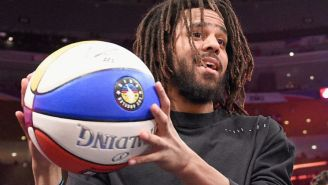 J. Cole Is Trying To Land An NBA Contract Even Though He Hasn't Played Competitive Basketball In Over 15 Years