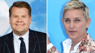 The Internet Reacts To James Corden Reportedly Being 'In Line' To Replace Ellen Degeneres