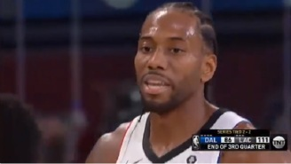 Kawhi Leonard Hilariously Curses Out Reggie Jackson For Turning The Ball Over 'I Didn't Give Up The Ball For That Sh-t'