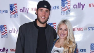 Matthew Stafford's Wife Kelly Rips The NFL To Shreds Over Handling Of Her Husband's False-Positive Coronavirus Test