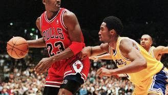 Longtime NBA Photog Describes One Difference Between Kobe Bryant And Michael Jordan's Legendary Work Ethics
