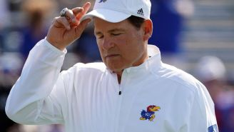 Kansas Places Head Football Coach Les Miles On Administrative Leave Amidst Investigation For Conduct At LSU