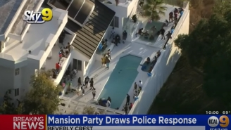 3 People Reportedly Shot At What Looks Like The Largest LA Mansion Party I've Seen In 2020
