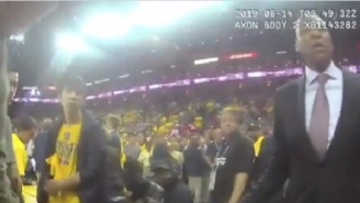 New Video Footage Appears To Show Sheriff's Deputy Being 'Initial Aggressor' And Shoving Raptors President Masai Ujiri During 2019 NBA Finals