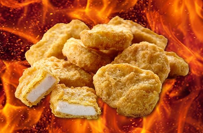 mcdonald's spicy mcnuggets