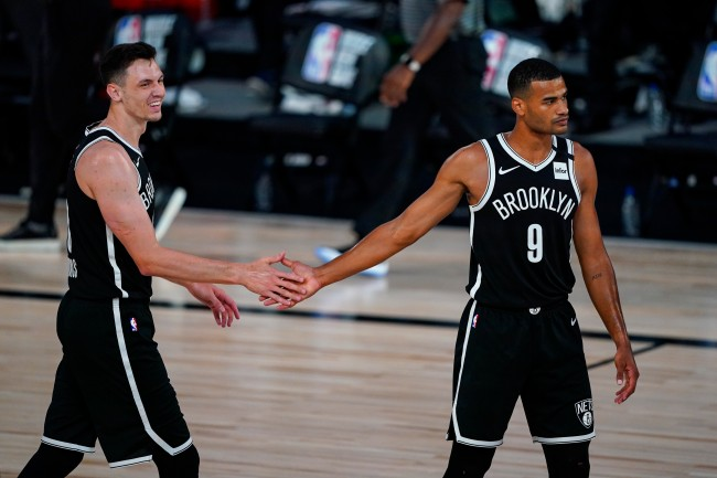 Nets players claim Rockets' players passed on tips on how to beat the Bucks inside the NBA Bubble's pool area