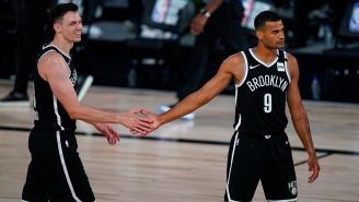The Nets Got Tips From Rockets' Players Inside The NBA Bubble's Pool To Pull Biggest NBA Upset In 27 Years