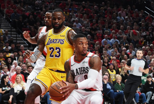 There's a theory that NBA teams are throwing games in order to get the Blazers into the playoffs against the Lakers