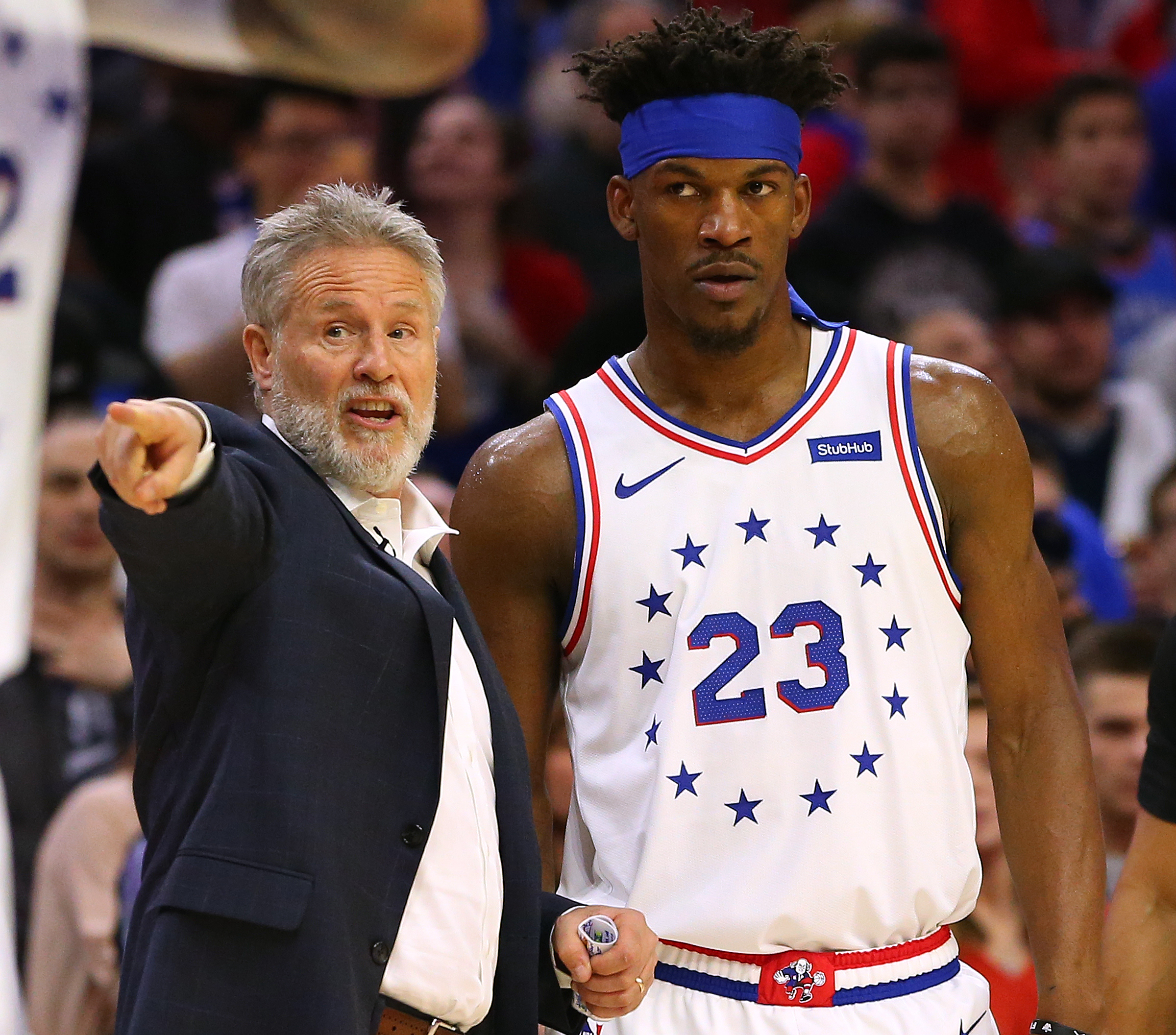 New Report Claims Jimmy Butler Hated Brett Brown S Coaching Style And Ben Simmons Was Butthurt Over 76ers Group Text Brobible