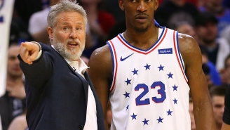 New Report Claims Jimmy Butler Hated Brett Brown's Coaching Style And Ben Simmons Was Butthurt Over 76ers Group Text