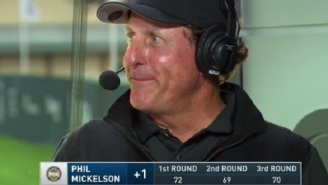 Phil Mickelson Has Hilariously Awkward Exchange With Nick Faldo During PGA Championship Broadcast